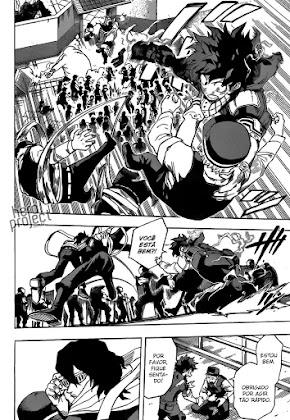 Mangá Boku No Hero Academia Capítulo 138