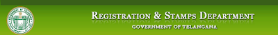 Telangana Land/Plot Registration details website