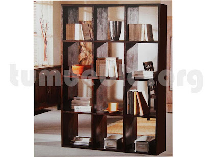 mueble estanteria en teca 4022