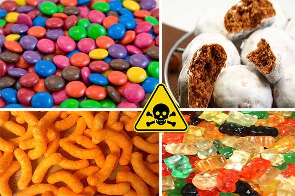 aceste dulciuri sunt toxice pentru copii