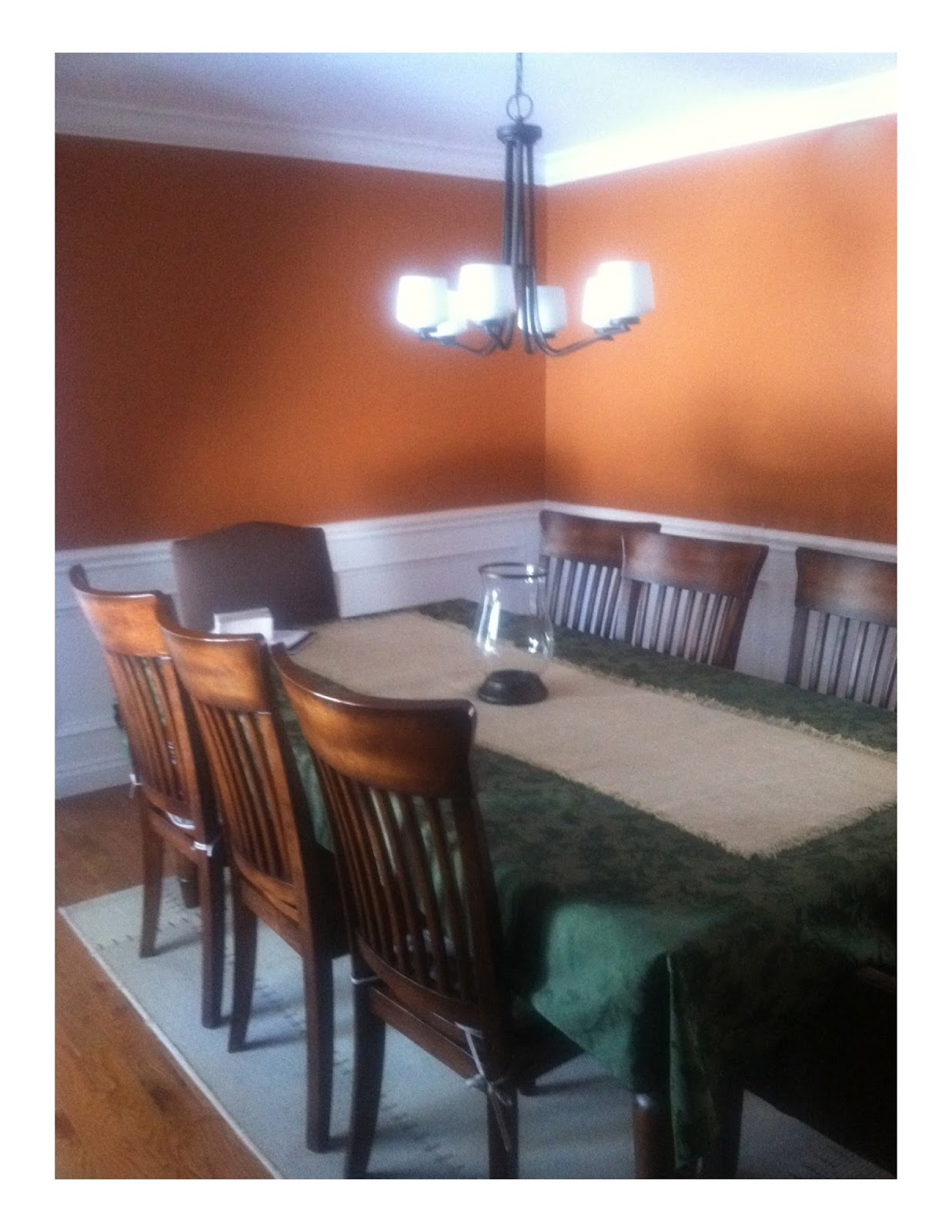 Room Design Program: The Yellow Cape Cod: Before And After~A Dining Room Design