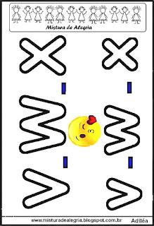 Alfabeto emoji para colorir