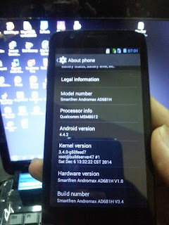 TF Update Smartfren Andromax A Tested