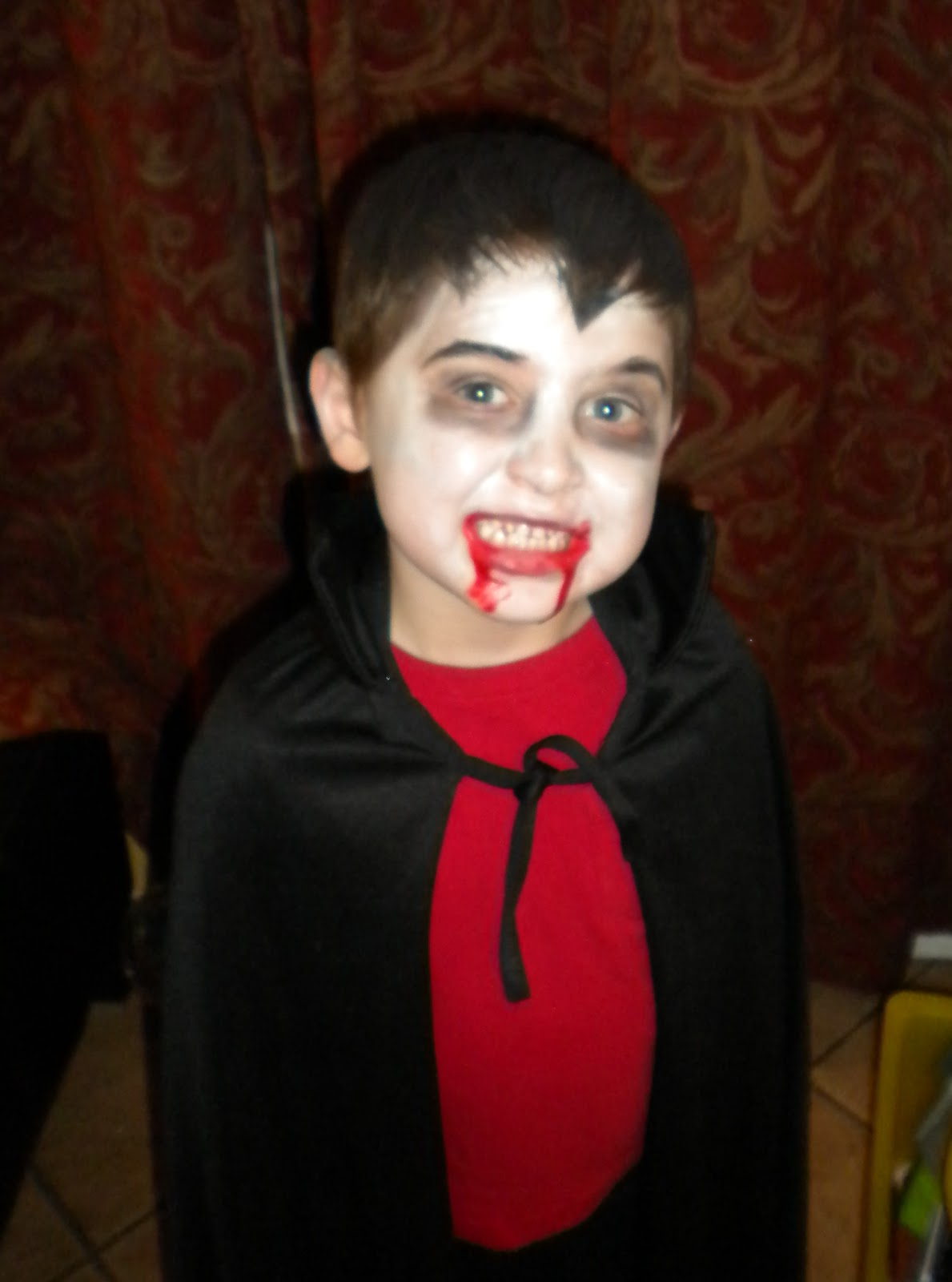 Halloween Makeup For Kids Boy.Vampire Makeup Easy Boy Wajimakeup Co