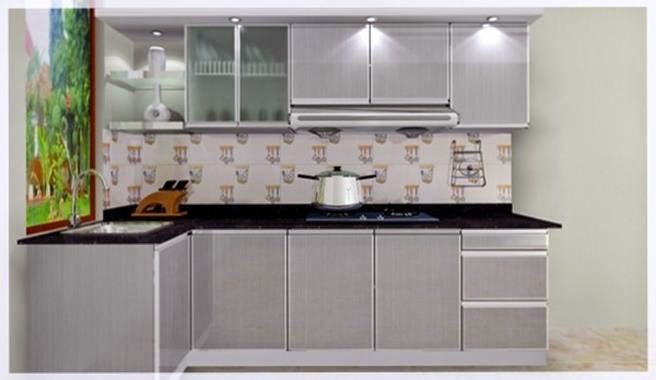 Kumpulan foto kitchen set minimalis murah sederhana jual for Jual kitchen set aluminium