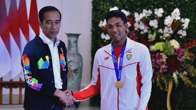 Jokowi Puji Zohri yang Dengan Segala Keterbatasan, Tapi Mampu Menjadi Juara Dunia