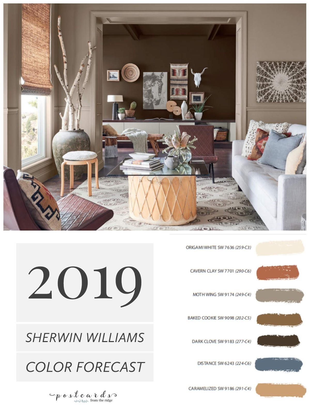 Interesting Living Room Paint Color Ideas: 2019 Paint Color Forecast From Sherwin Williams