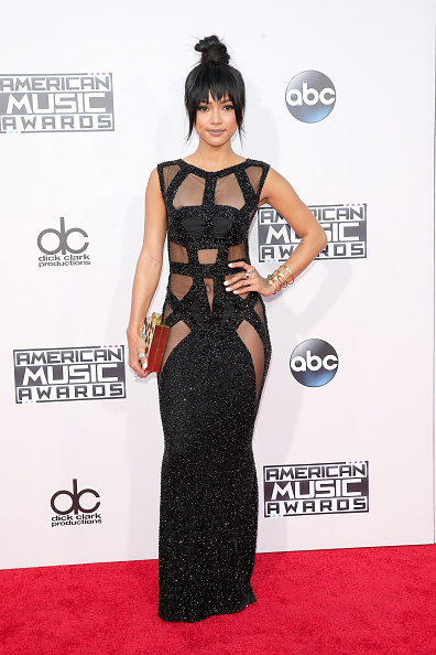 Karrueche Tran 2015 American Music Awards