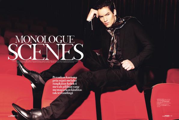 MONOLOGUE SCENE | Men's Folio Indonesia Sept/Oct 2011