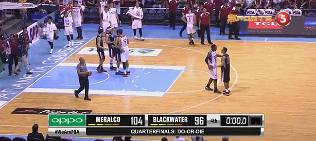Meralco eliminates Blackwater, 104-96 (REPLAY VIDEO) September 28 / Quarterfinals