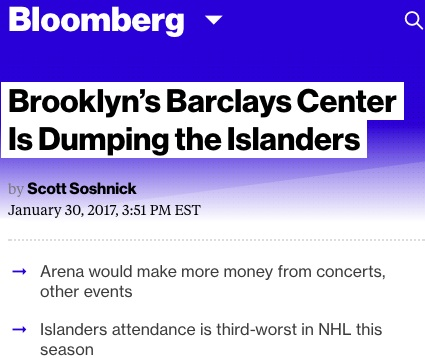 Islanders Are Expected to Win Right to Build New Arena at Belmont Park -  The New York Times