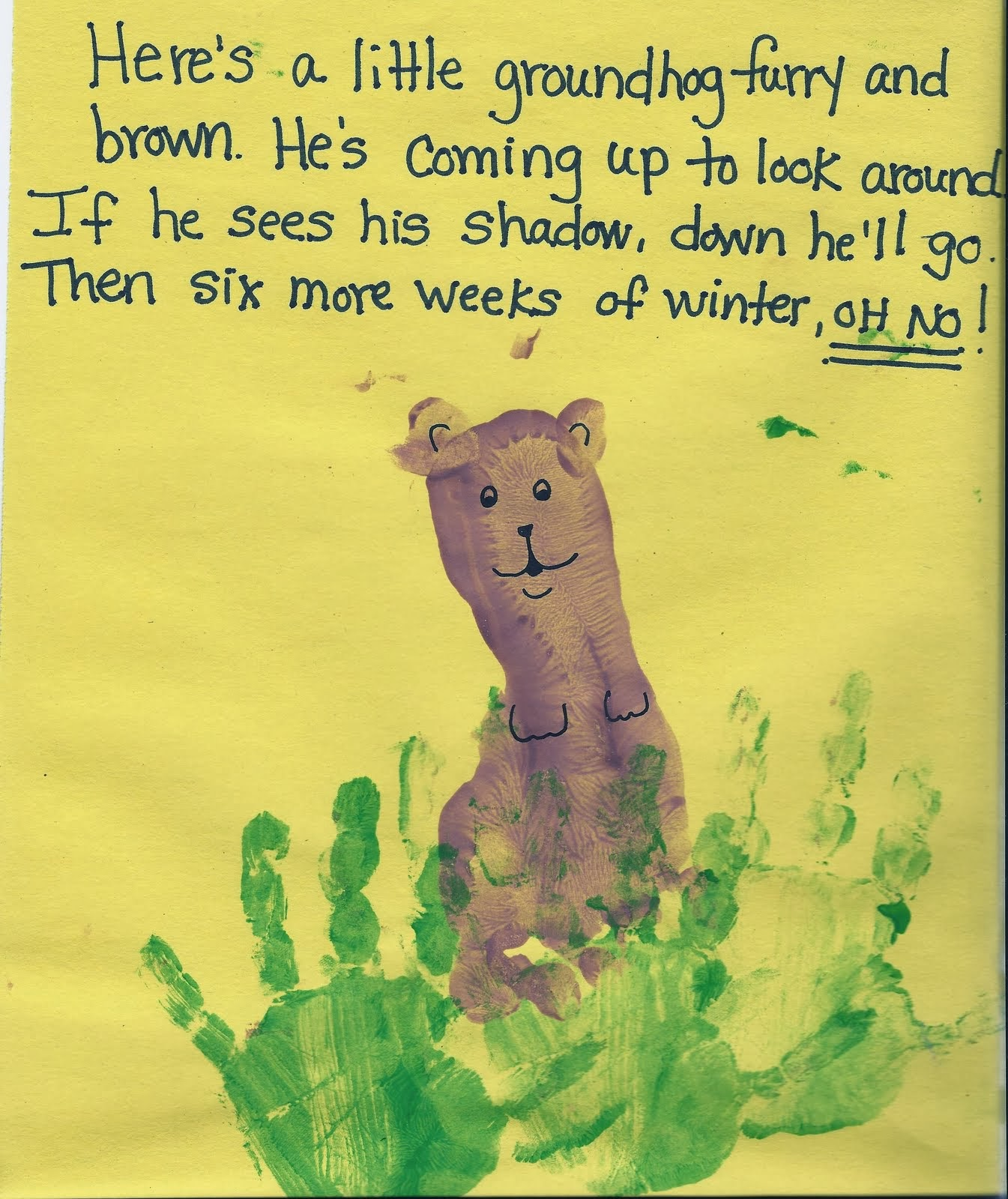 Groundhog Day Crafts For Kids Crafty Morning