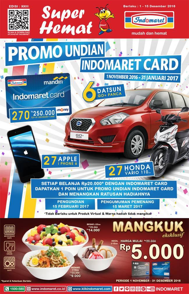 Katalog Promo Indoapril Terbaru 1 - 15 Juni 2017