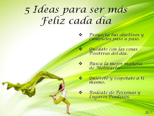 Ideas Feliz Cada Día