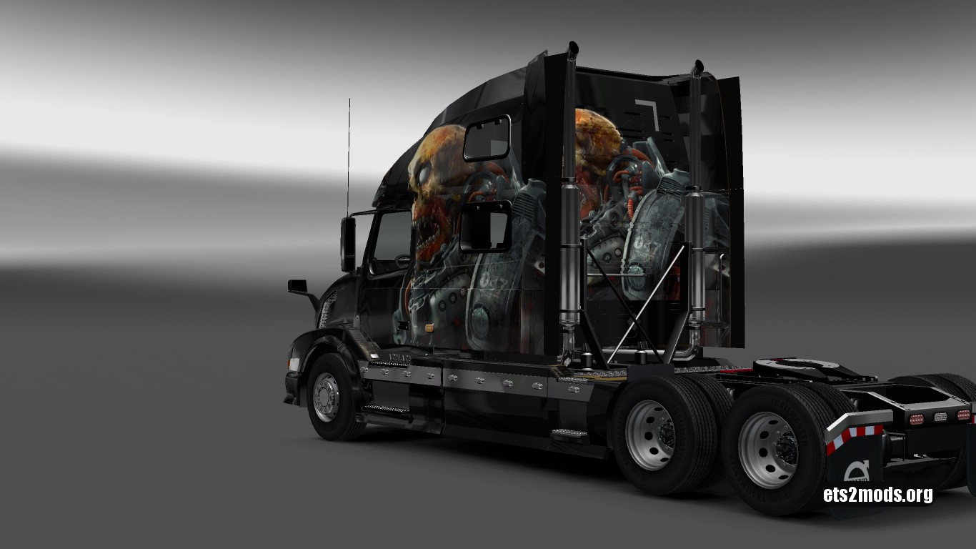 Skull Skin for Volvo VNL 780