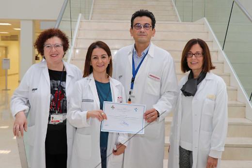 El servicio de Farmacia del Hospital La Fe, premiado por un trabajo sobre calidad en el uso de medicamentos