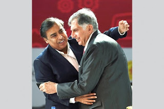 Why is Mukesh Ambani the richest person in India and not Ratan Tata?