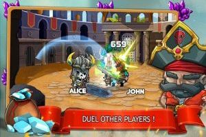 Tiny Gladiators Apk Mod Offline v2.2.2 Unlimited Money for android