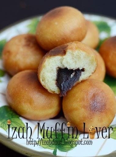 Secubit rahsia @ Secukup rasa: Donut inti kacang merah