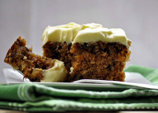 I Recommend  Vegetables A Day Carrot Cake