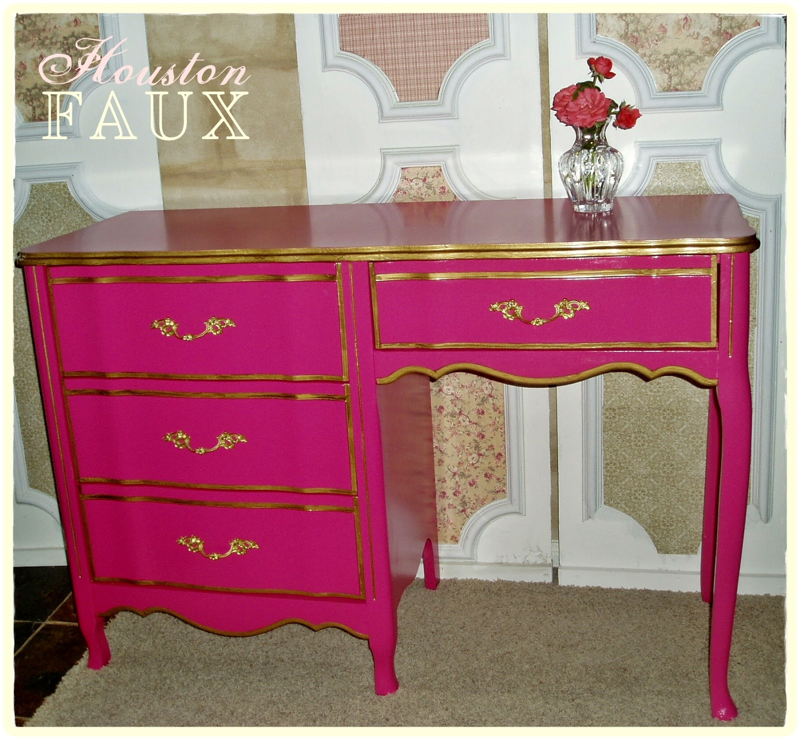 hot pink office chair pride lift parts diagram faux painting 43 furniture the quotstephanie quot victoria 39s