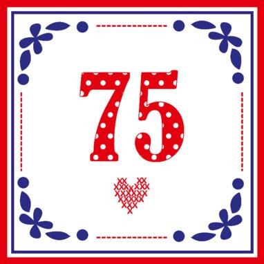 75 jaar IK KAN VLIEGEN: 75 jaar! 75 jaar