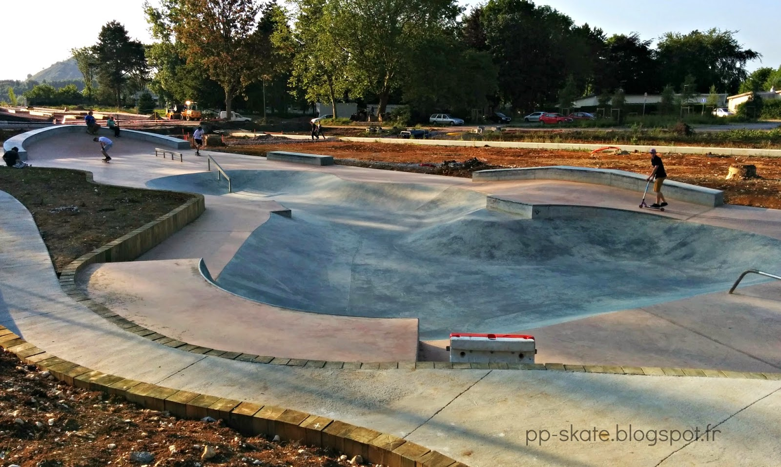 Skatepark street Bruay
