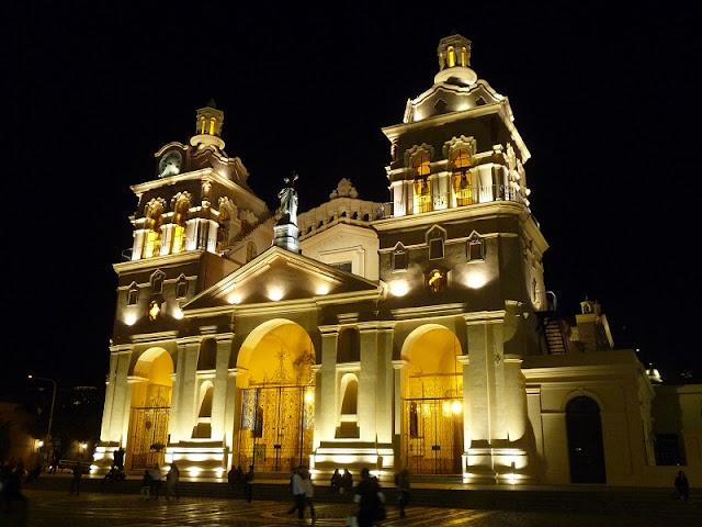 Catedral de Córdoba no verão