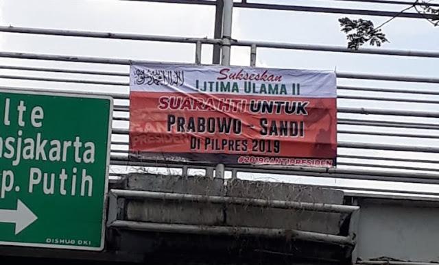 Spanduk HTI Dukung Prabowo-Sandi, Fadli Zon: Yang Nyusup-nyusup Itu Cuma Intel