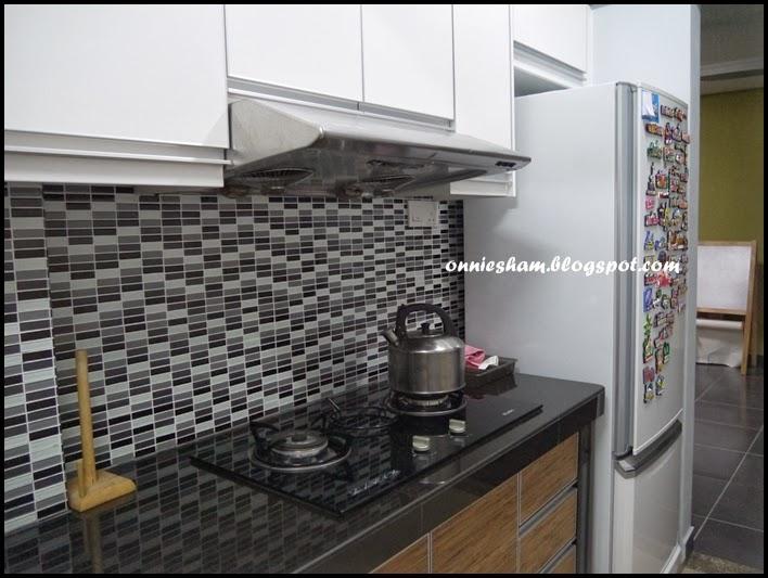 Cinta Hatiku Alysya Damia Kitchen Cabinet