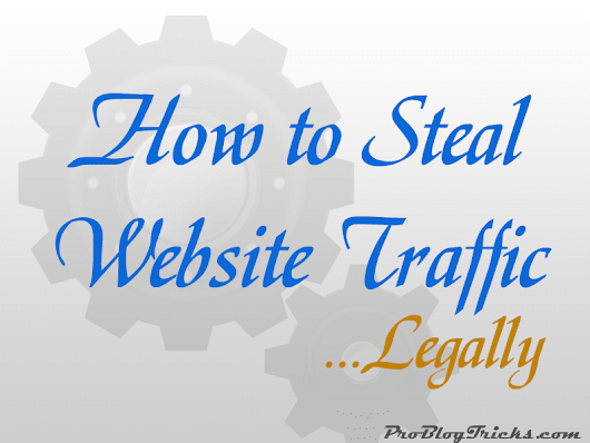 Content Theft is illegal. Here's How to Steal Traffic Instead!