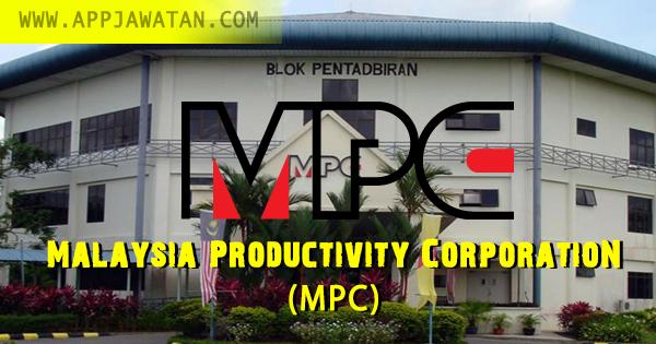 Jawatan Kosong kerajaan iaitu di Malaysia Productivity Corporation