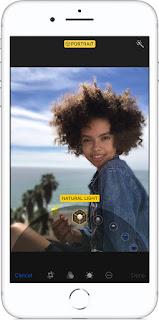 Come applicare l'effetto Illuminazione ritratto su iPhone X Plus