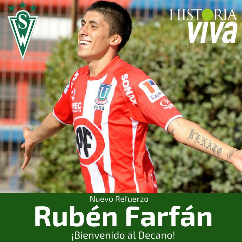 Santiago Wanderers firma a Rubén Farfán - Planetafichajes