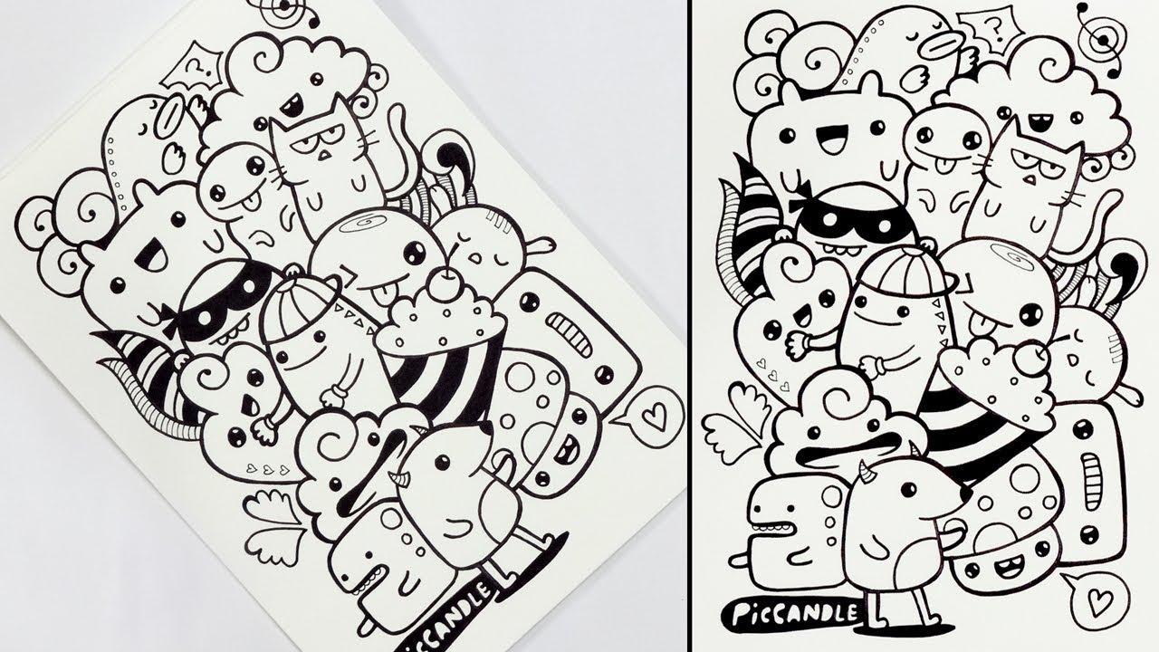 Sketsa Gambar Doodle Art