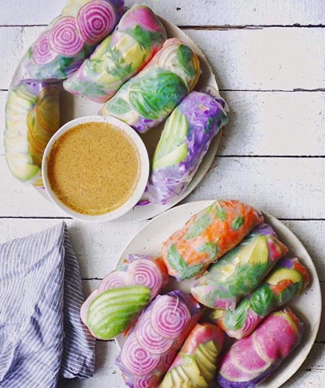How to Make a Psychedelic Salad Rolls