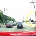 Maut dirempuh kereta ketika melintas jalan sambil menggunakan telefon bimbit