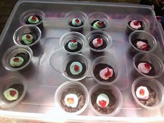 Resep Cup Cake Brownies di Cup