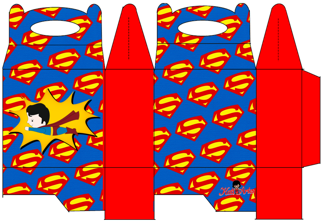 Superman Free Printable Lunch Box Oh My Fiesta in english