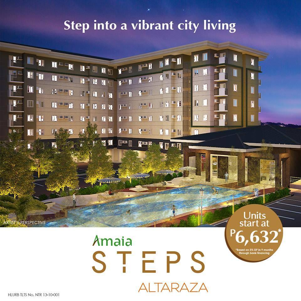 Amaia Steps Altaraza Affordable Condo in San
