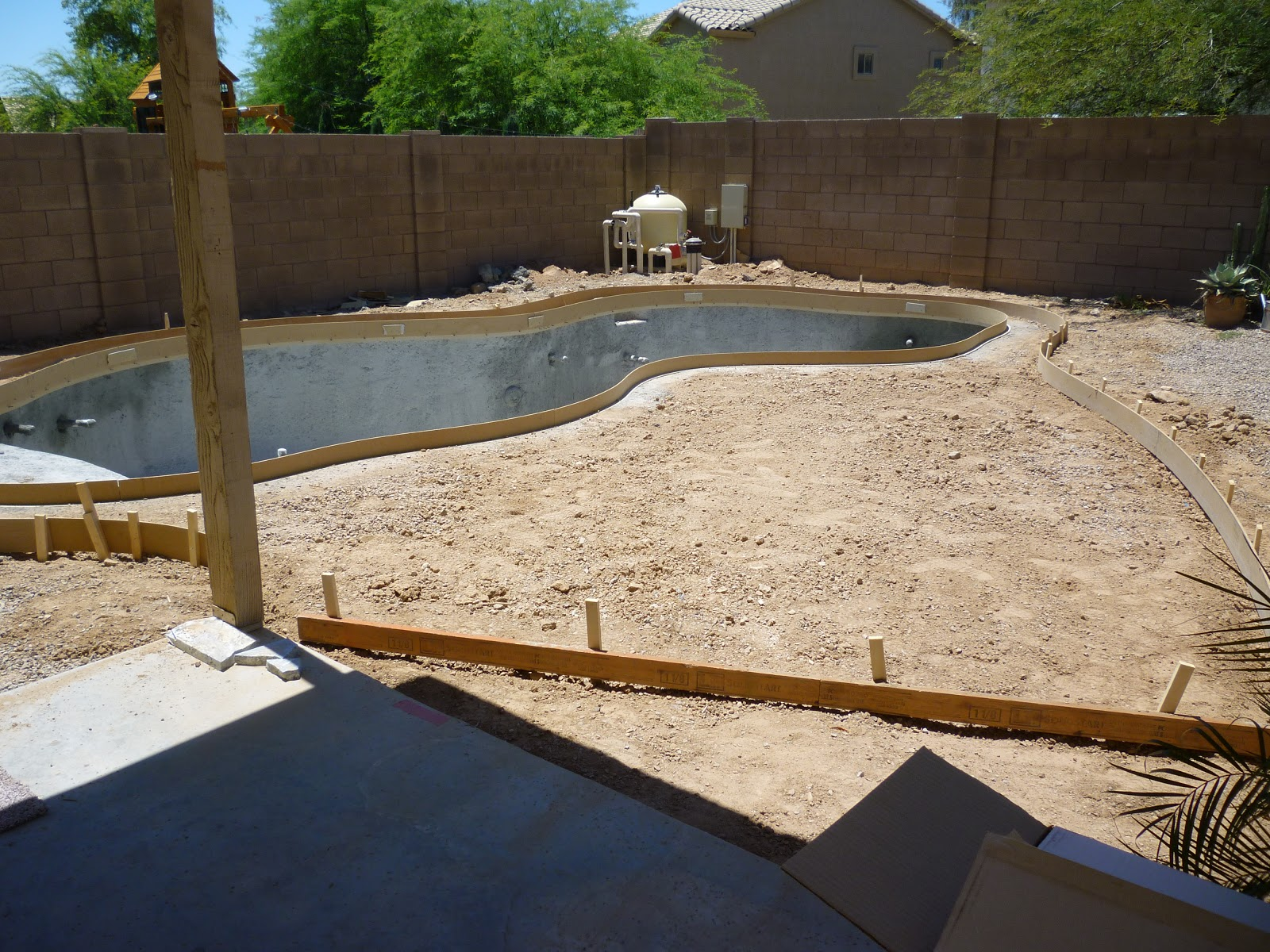 a stroll thru life pool update one more week to finish