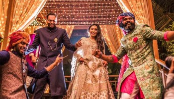 Monica-Lal-dancing-in-her-Engagement-Ceremony