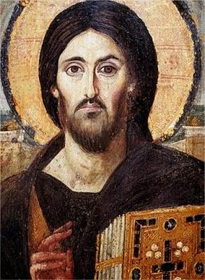 Painel iconográfico de Jesus