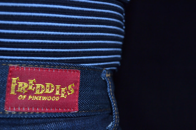 Freddies of Pinewood Ton Up Jeans and Beatnik Top