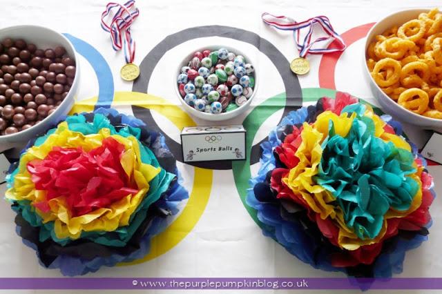 #Olympics Snacks at The Purple Pumpkin Blog