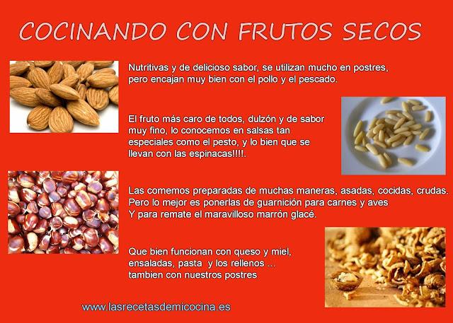 Hablemos de los frutos secos