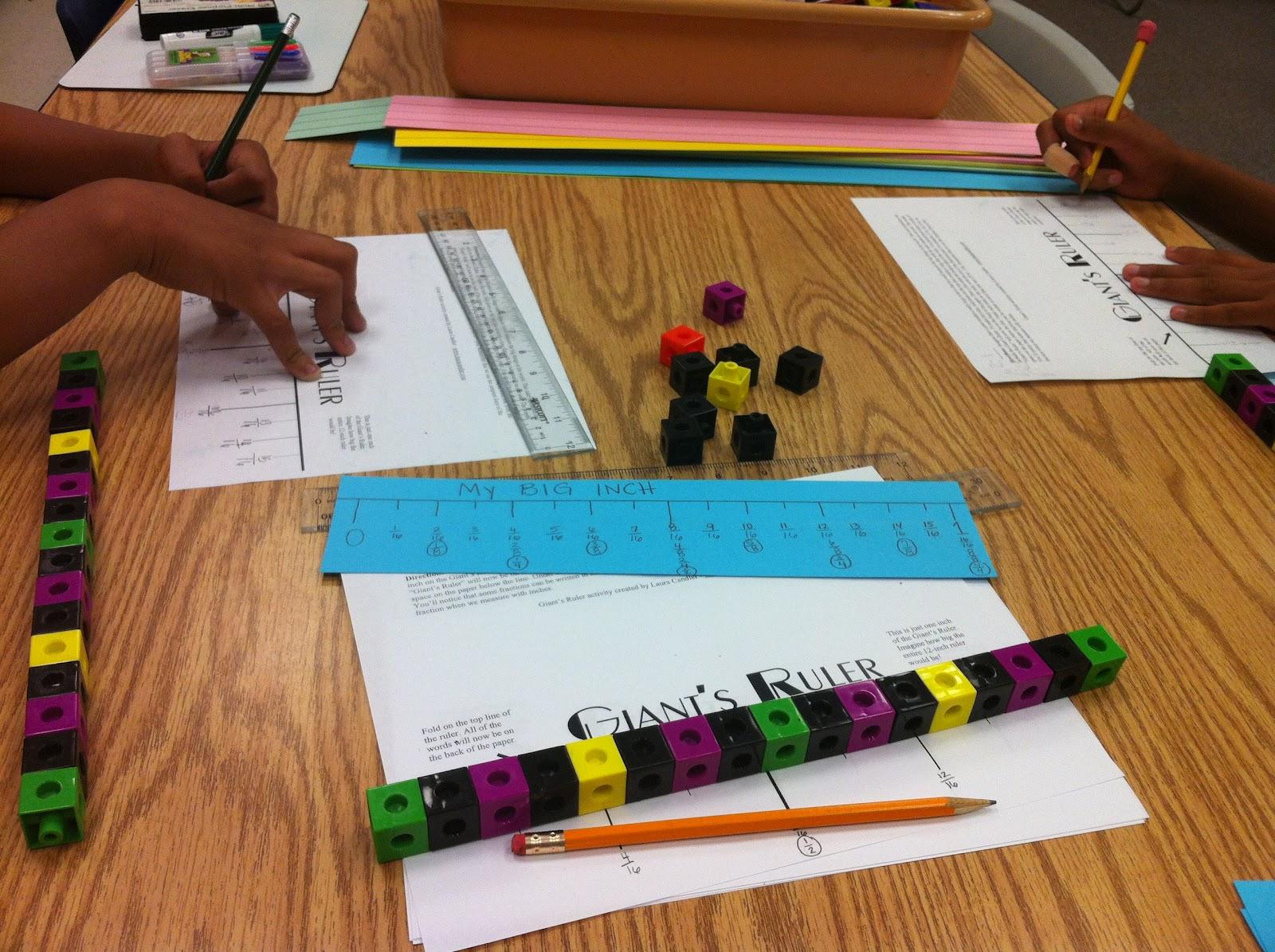 Labeling Fractions On A Ruler Worksheet