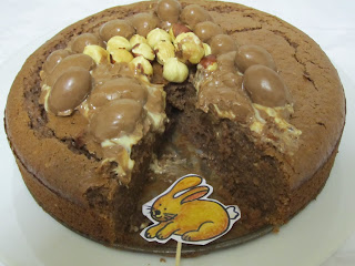 Gâteau aux Kinder Schoko-Bons, Pâques