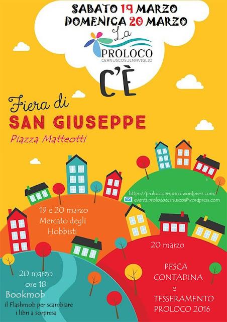 Fiera di San Giuseppe 19 e 20 Marzo Cernusco sul Naviglio (MI)