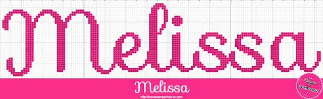 Nome Melissa em Ponto Cruz